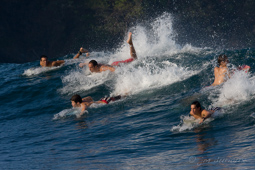 Ambiance surf in Costa Rica